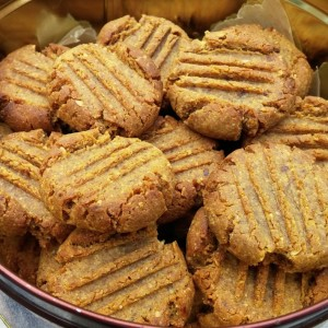 Old fashioned PB Cookies 2