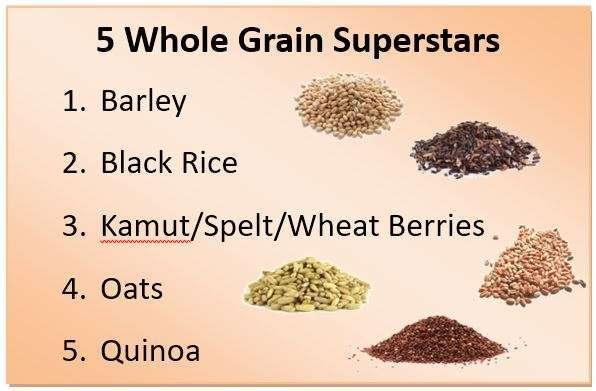 5 Whole Grain Superstars